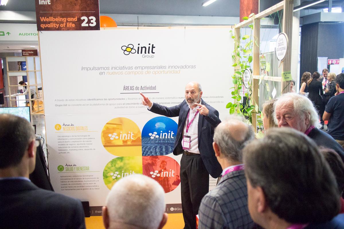 Juan Carlos Santamaría presenta Grupo Init e Inithealth Empresa Saludable en Global Innovation Day