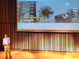 Jordi Marti de init speaker en the Team Talks