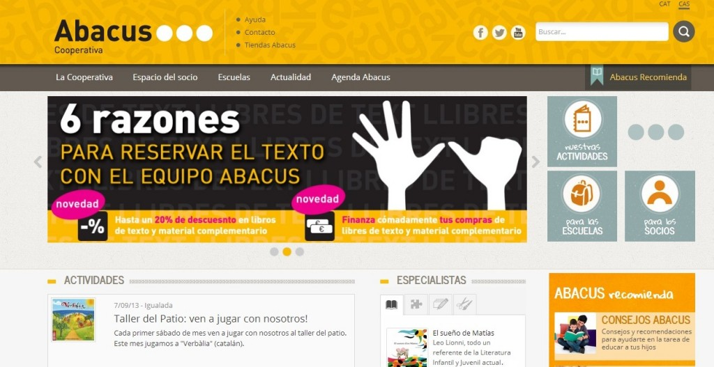 Abacus e init Services
