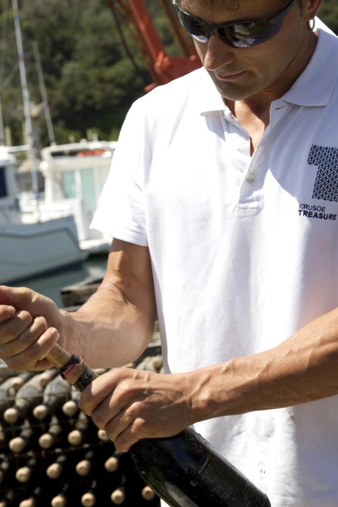 Extracción Crusoe Treasure Passion 2013