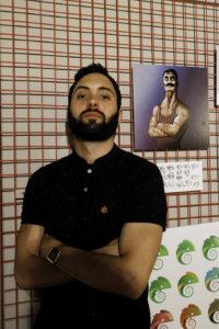 Héctor Villar, Init Services, Exposición de Pintura Digital