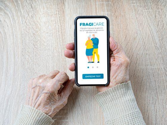 Fragicare, Una plataforma tecnológica para la gestión de la fragilidad en personas mayores.
